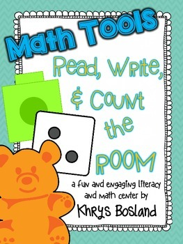 Math Tools Read, Write, and Count the Room {Literacy and Math} {CCSS}
