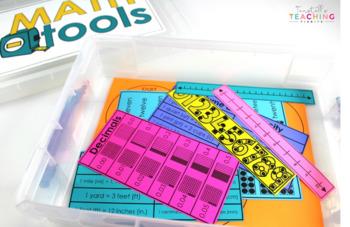 Math Tools SPANISH