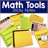 Math Tools Sticky Notes Templates