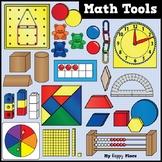 Math Tools and Manipulatives Clip Art - Huge Bundle!