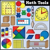 Math Tools and Manipulatives Clip Art - Huge Set!