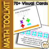 Printable Elementary Math Toolkit with Strategies Visuals and Manipulatives