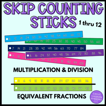 Math Tools for Skip Counting, Multiplication, Division, an