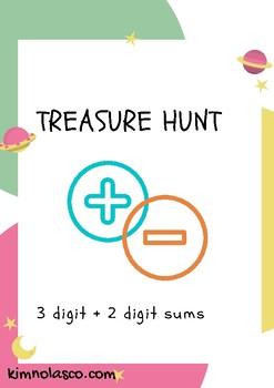 Math Treasure Hunt - Addition