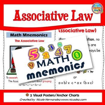 Math Mnemonics  (Associative Property)