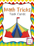 Math Tricks Task Cards