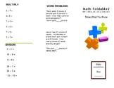 Math Trifold 2 Grade 3