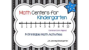 Math Tub Activities