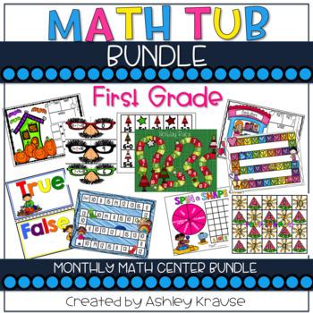 Math Tub Bundle - 1st Grade