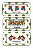 Math Tub Color Labels