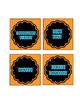 Math Tub Labels (TARGET ADHESIVE SQUARE LABELS)