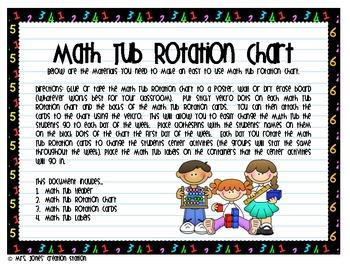 Math Tub Management System