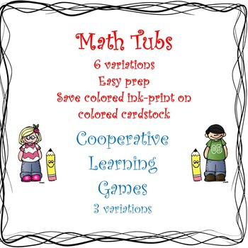 Math Tubs and Cooperative Learning Games: Numbers to 100