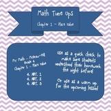 Math Tune Ups - McGraw Hill - Ch. 1 Place Value