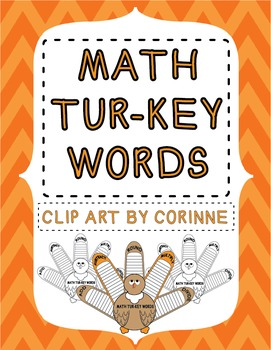 3rd Grade Math Key Words Activity