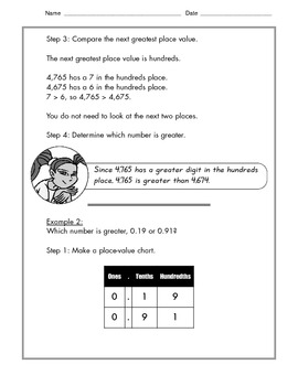 Math -  Tutorial and Practice: Comparing Fractions and Decimals