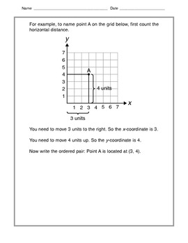 Math -  Tutorial and Practice: Cooordinate Grids
