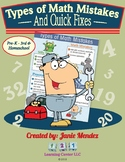 Math: Types of Math Mistakes & Quick Fixes