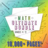 Elementary Math Curriculum K-6 Bundle: ALL Common Core Standards, Grades K-6