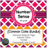 Number Sense Common Core Unit {grade 8}