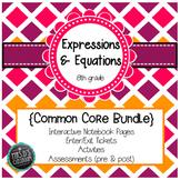 Expressions & Equations Common Core Unit {grade 8}