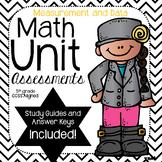 Measurement- Math Unit Assessments-(5th Grade)