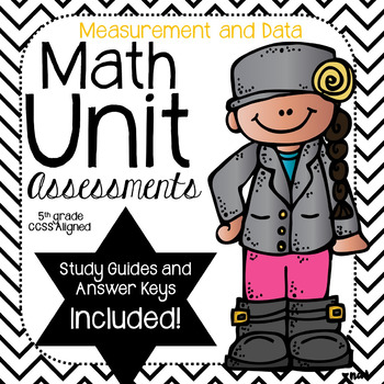 Measurement- Math Unit Assessments-(5th Grade)