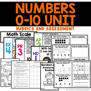 Math Unit: Numbers 0-10