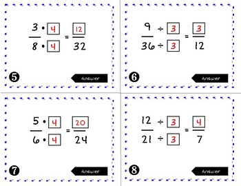 Math Unit Review - Adding and Subtracting Fractions