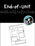 Math Unit Self-Reflection