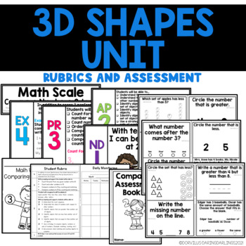 Math Unit: Three-Dimensional Shapes
