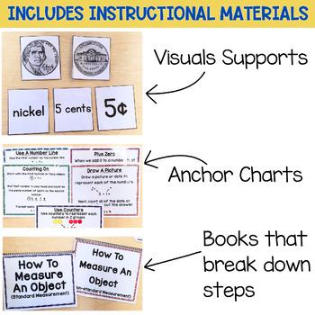 Math Units For Special Education BUNDLE