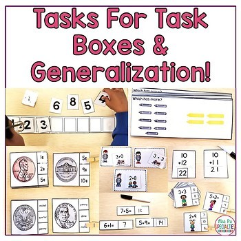 Math Units For Special Education BUNDLE (Leveled & Hands On Math Units)