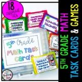 5th Grade Math Centers Bundle