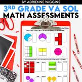 Math VA SOL Standards-Based Assessments 3rd Grade