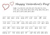 Math Valentine