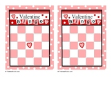 Math Valentine Bingo