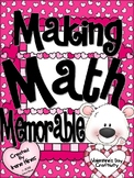 Math Valentine's Day Craftivity ~ Color By The Code Math Puzzles