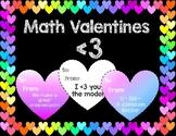 Math Valentines! (Valentine's Day Cards)