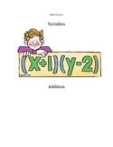 Math Variables Center