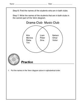 Math - Venn Diagrams: Tutorial and Practice
