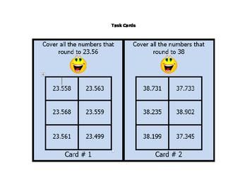 Math VA SOL 5th Grade Rounding Decimals