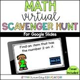 Math Virtual Learning Scavenger Hunt