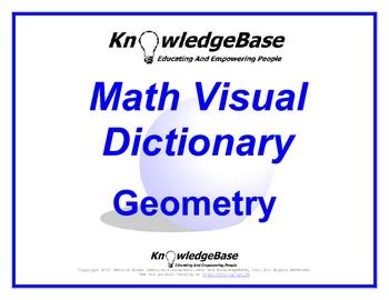 Math Visual Dictionary (Geometry) (FULL VERSION) - Teach the Language of Math!
