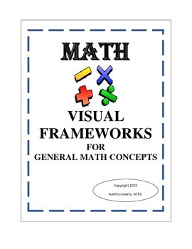 Math; Visual Frameworks for General Math Concepts