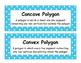 Math Voabulary Cards-Blue