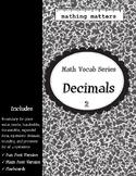 Math Vocab 2: Decimals
