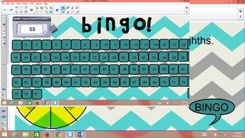 Math Vocab Bingo
