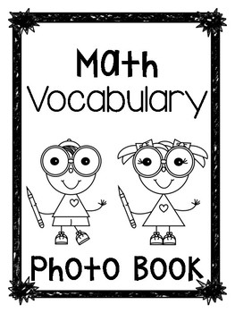 Math Vocab Photo Album