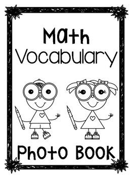 Math Vocab Photo Album